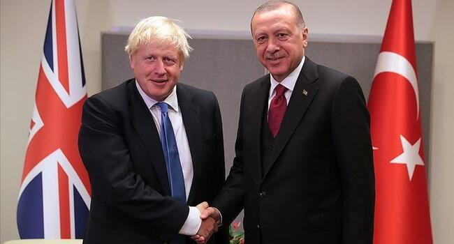 Turkish, UK leaders discuss Azerbaijan-Armenia row