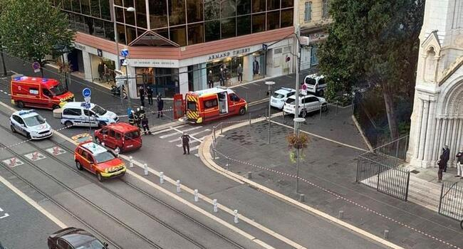 Knifeman kills three at French church, ratcheting up terror fears