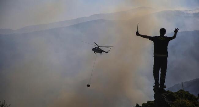 Türkiye'de ikisi hariç tüm orman yangınları kontrol altında