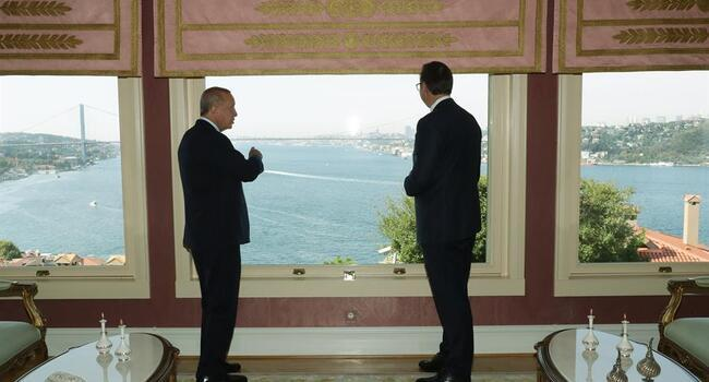 Turkish and Serbian presidents meet in Istanbul