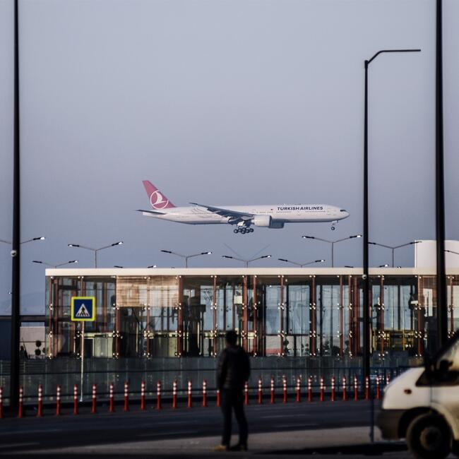 New Istanbul Airport Hosts Maiden Flight With Turkish Airlines