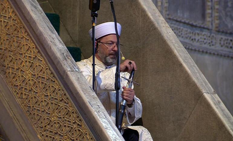 First Muslim prayers held in Hagia Sophia after 85 years