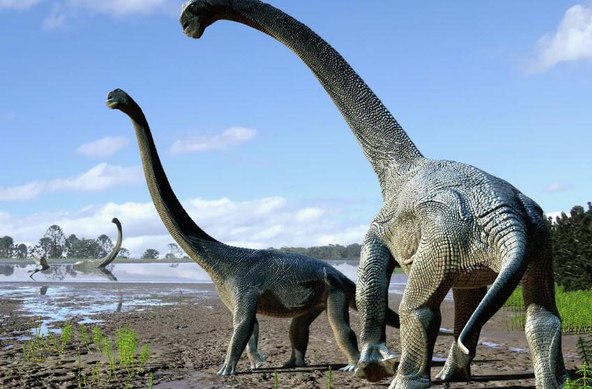 Bilim adamları dinozorlara ait parmak izi keşfetti