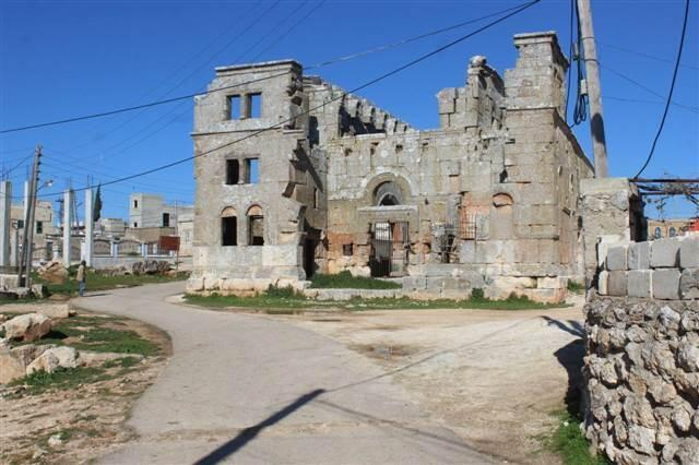 Notre Dame'ın esin kaynağı İdlib'deki bir kilise