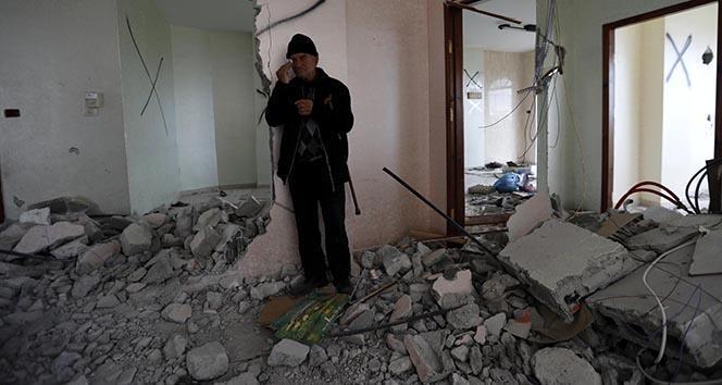 İsrail ordusu Filistinli mahkumun evini yıktı