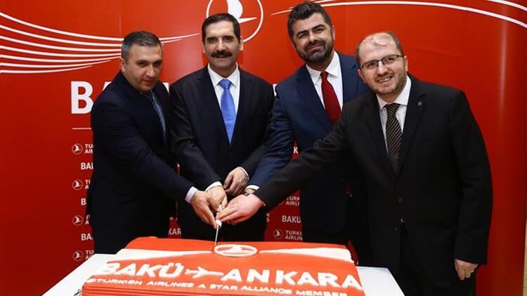 THY Ankara-Bakü uçuşlarına başladı