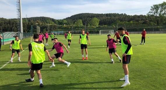 Ümit Milli Futbol Takımı, Arnavutluk hazırlıklarına başladı!