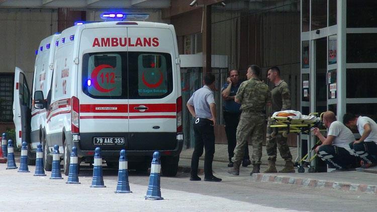Azez'den acı haber! 1 asker şehit, 5 asker yaralı…