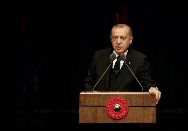 Cumhurbaşkanı Erdoğan, Jandarma'nın kuruluş yıl dönümünü kutladı