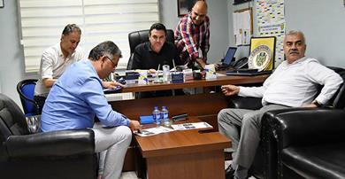 Ankaragücü'nde çalışmalar başladı