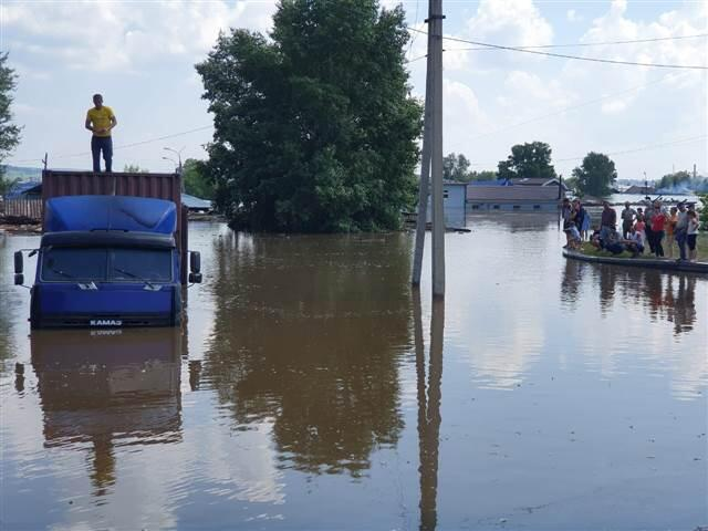 Rusya'da sel felaketi: 2 ölü
