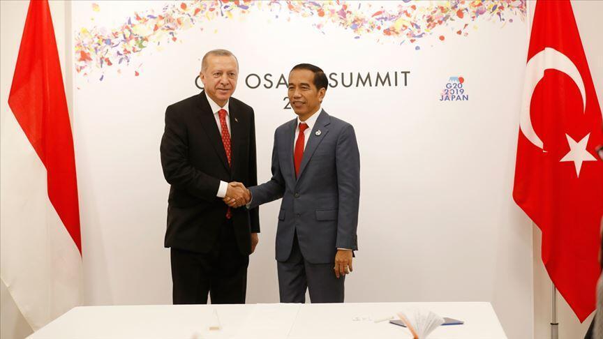 Erdoğan ve Widodo görüşmesinin ayrıntıları belli oldu