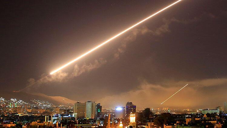 İsrail'in Suriye'de rejim bölgesini bombaladığı öne sürüldü
