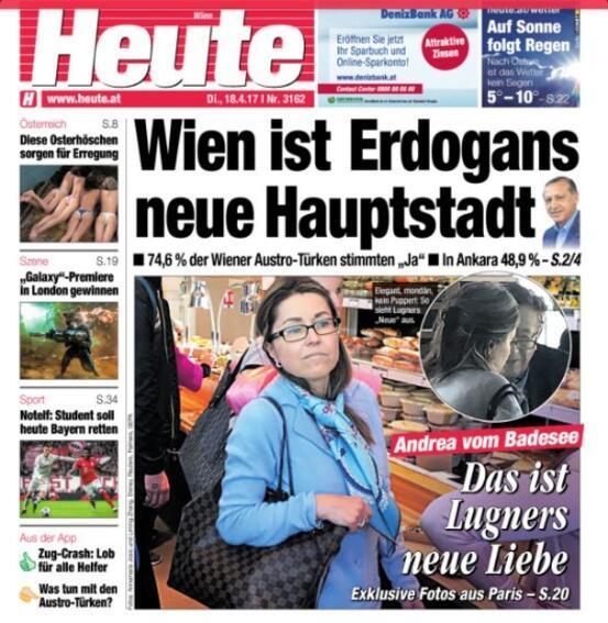 Avusturya gazetesi: Erdoğanın yeni başkenti Viyana