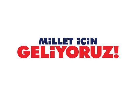 CHP'nin sloganı belli oldu