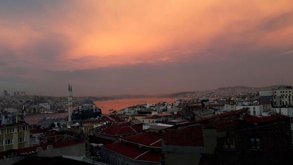 İstanbul Boğazında görsel şölen