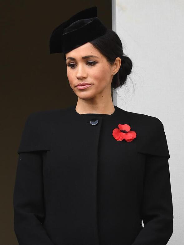 Meghan, Katei hüngür hüngür ağlattı