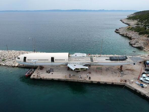 Saros Körfezine batırılacak dev yolcu uçağının montajında sona gelindi