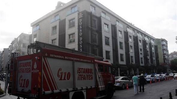 Fatih'te otel yangını
