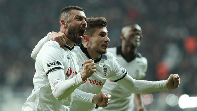 Beşiktaş Bursaspor'u Burak Yılmaz'ın golleriyle devirdi