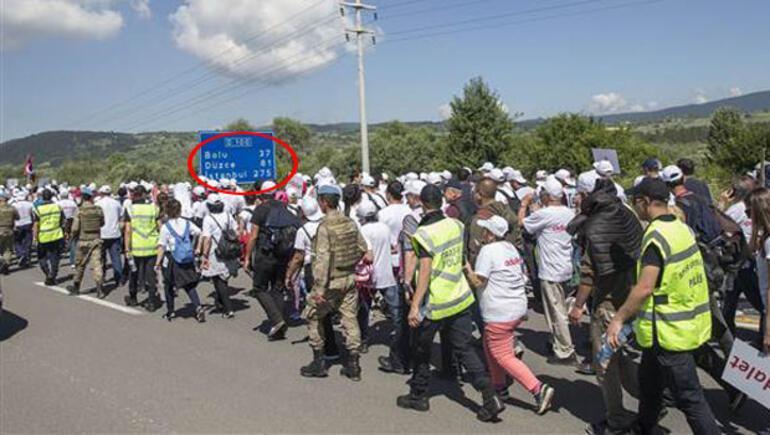 CHPnin Adalet Yürüyüşünde 9. gün