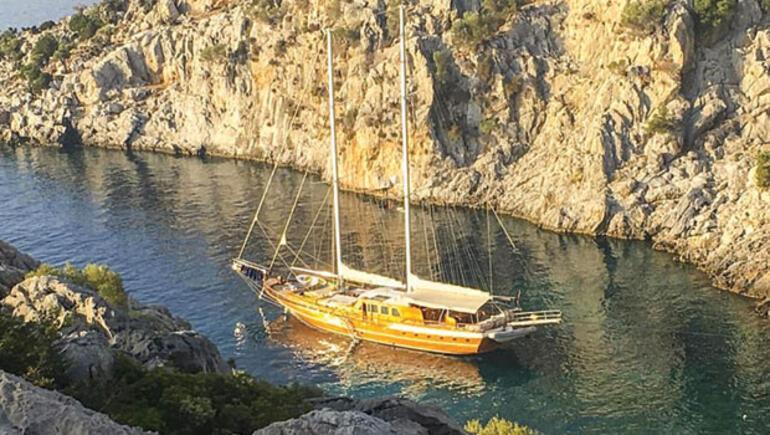 Veliaht prens Türk teknesinde