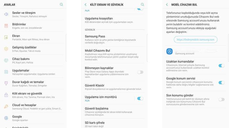 Samsung Galaxy Note 8'in bilinmeyen özellikleri