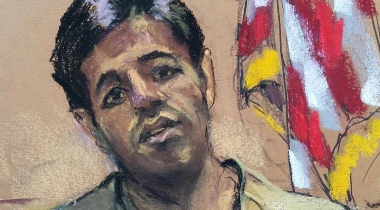 Zarrabın mahkeme dosyasındaki fotoğrafı yayınlandı...