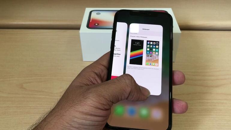 iPhone X arka planda uygulama kapama