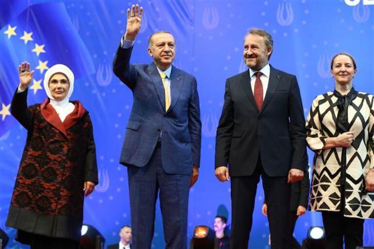Cumhurbaşkanı Erdoğan, Avrupadaki Türklere seslendi