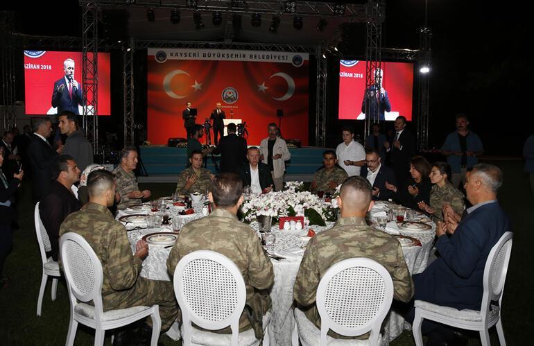 Cumhurbaşkanı Erdoğandan bir müjde de askerlere