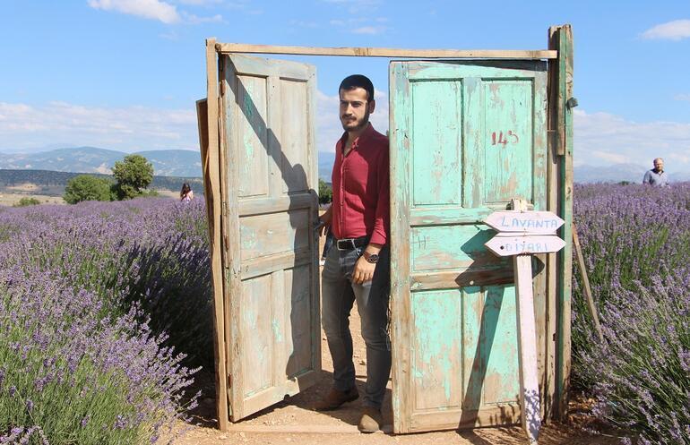Türkiyenin lavanta diyarına ziyaretçi akını