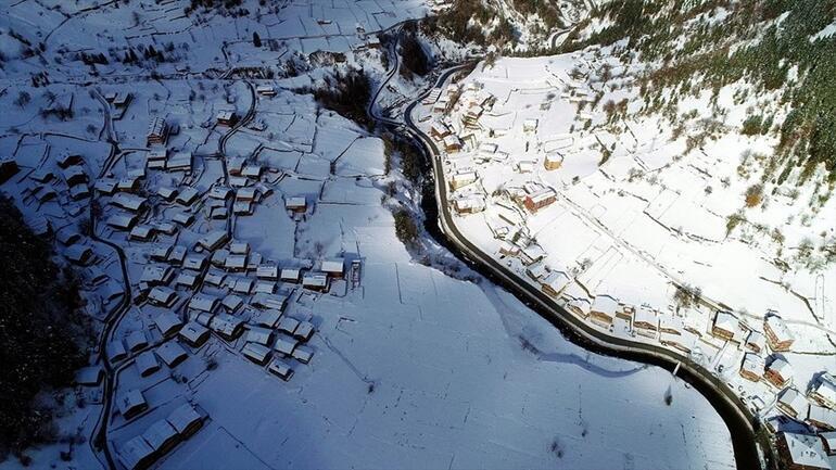 Uzungöl karlar altında