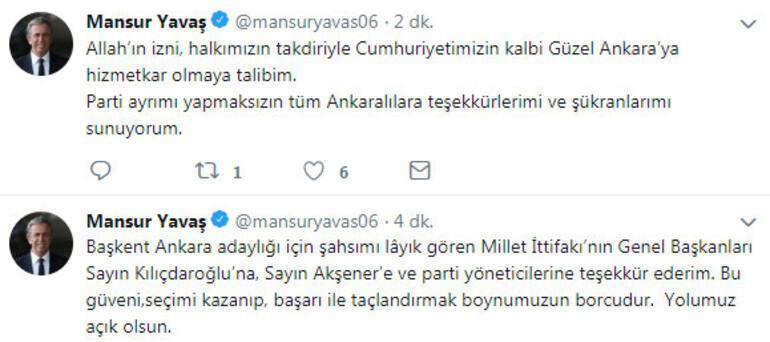 Son dakika.. CHPnin Ankara adayı Mansur Yavaş oldu