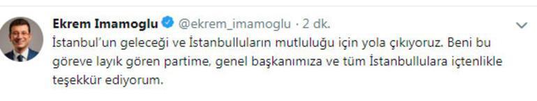 Son dakika... CHPnin İstanbul adayı Ekrem İmamoğlu oldu