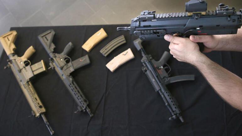 Yasa dışı silah satan Alman şirkete 3,7 milyon Euro ceza