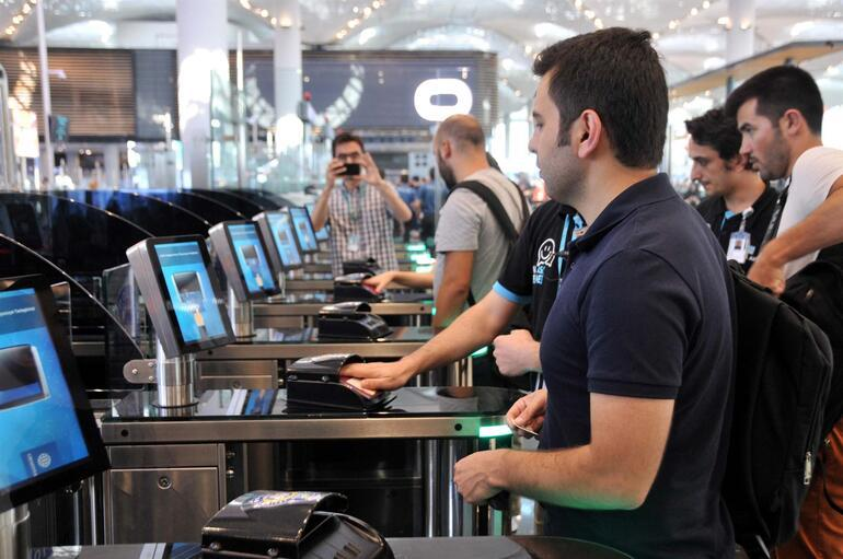 İstanbul Havalimanına giden onunla karşılaştı Test çalışmaları başladı
