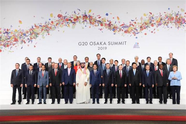Son dakika Fotoğraflar az önce geldi Cumhurbaşkanı Erdoğandan Japonyada önemli görüşmeler