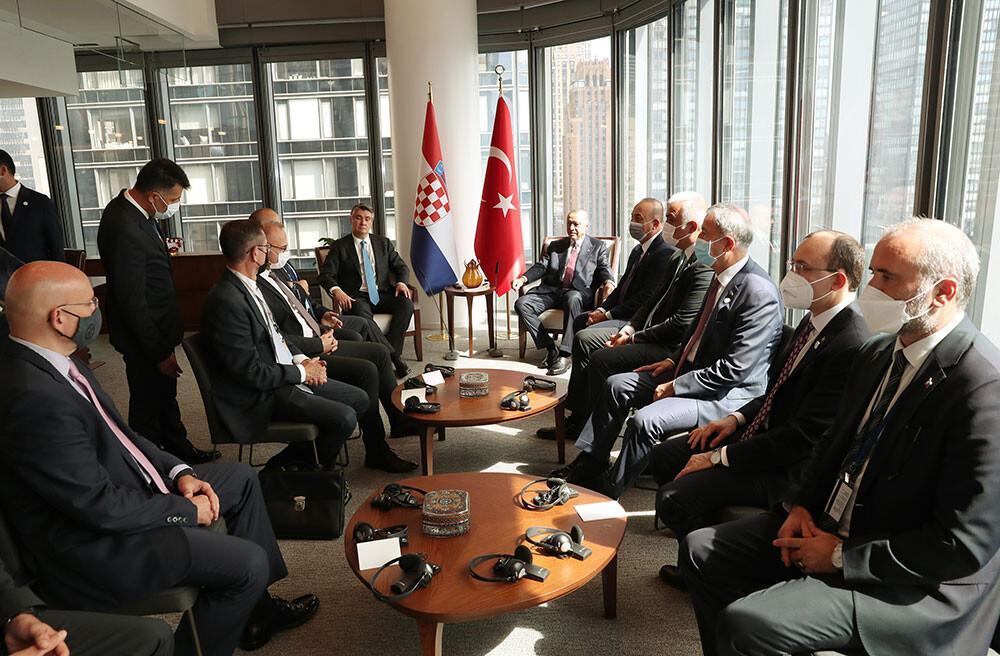 Cumhurbaşkanı Erdoğan'dan New York'ta kritik görüşmeler