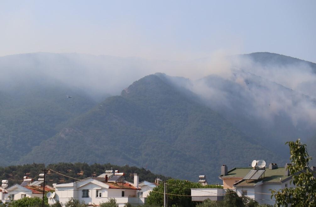 Son dakika haber: Kazdağları'nda orman yangını! Alevlerin ilerlemesi önlendi