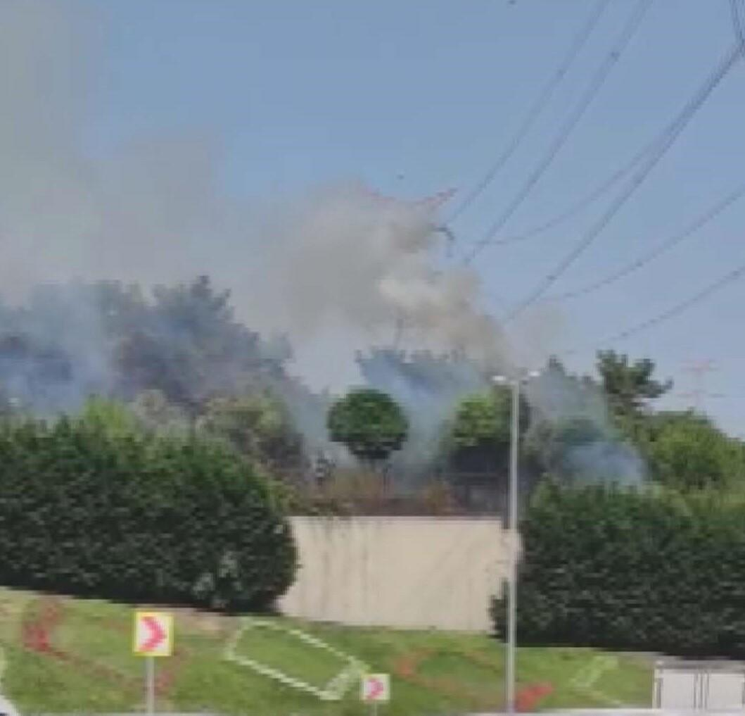 Son dakika: Esenler'de askeri kışlada yangın