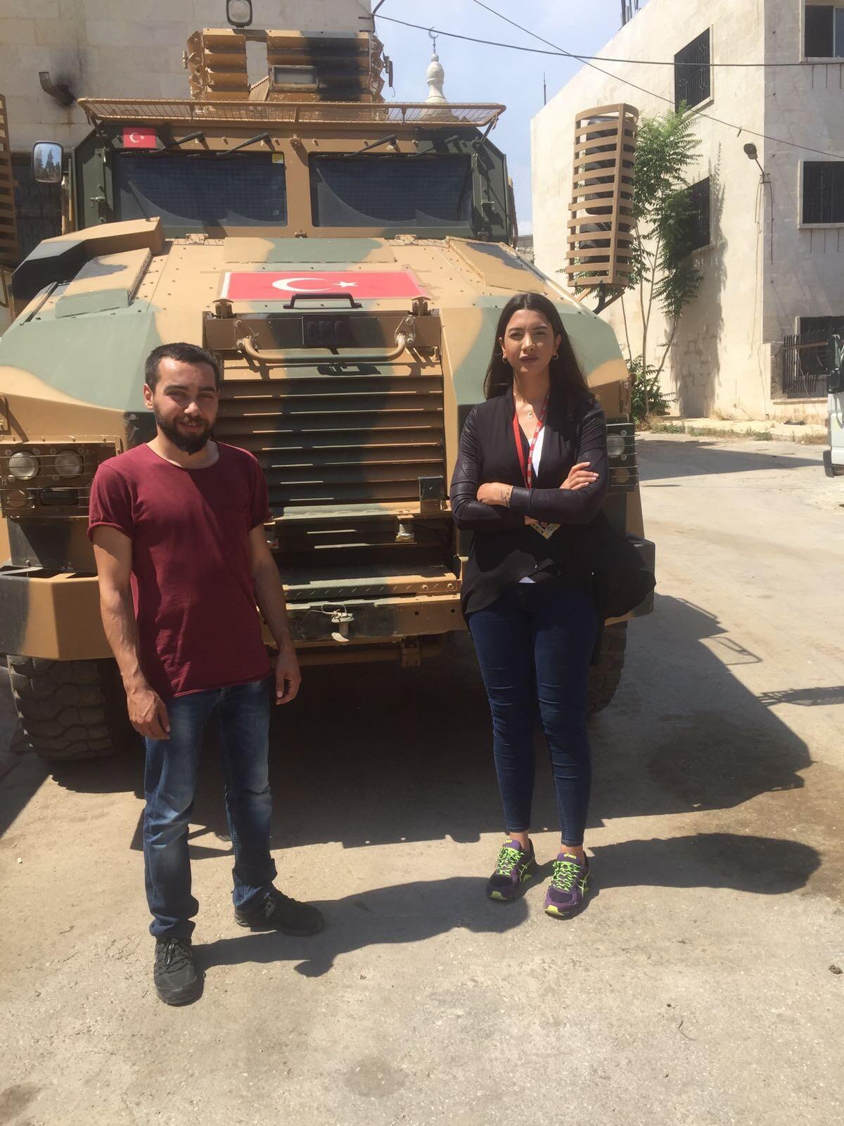 CNN Türk ekibi Afrin'de