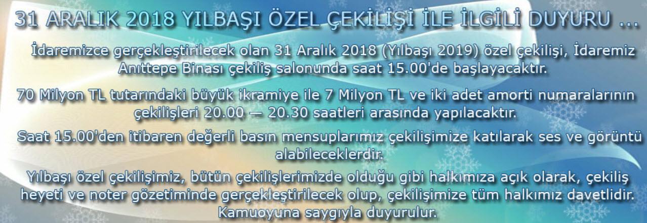Son dakika: Milli Piyango çekilişi başladı! - İlk sonuçlar için Hürriyet'in Milli Piyango sorgula sayfasından bilet sorgulama yapabilirsiniz.