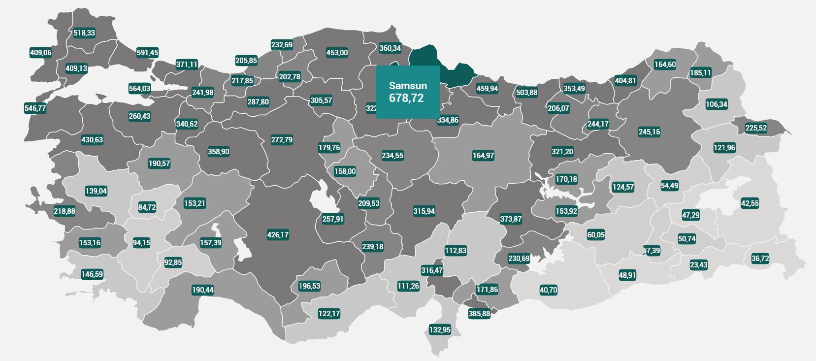 En çok koronavirüs vakası görülen Samsun'da yeni tedbirler alındı!
