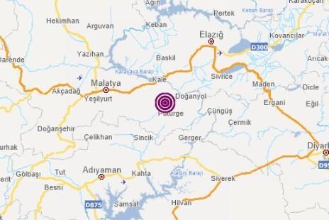 Son dakika deprem haberi: Malatya'da korkutan deprem
