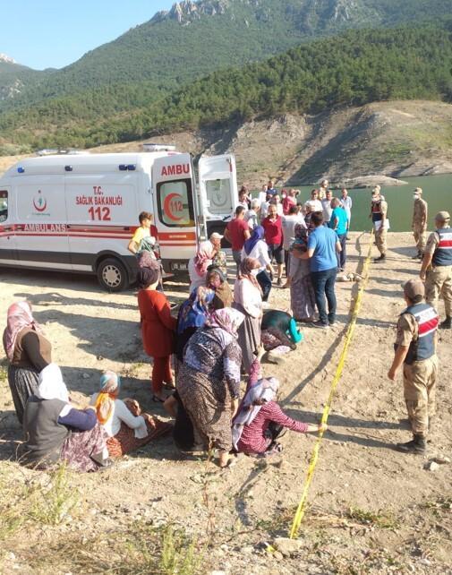 Son dakika haberleri: Günün en acı haberi... Amasya'da baraj gölünde aile faciası!