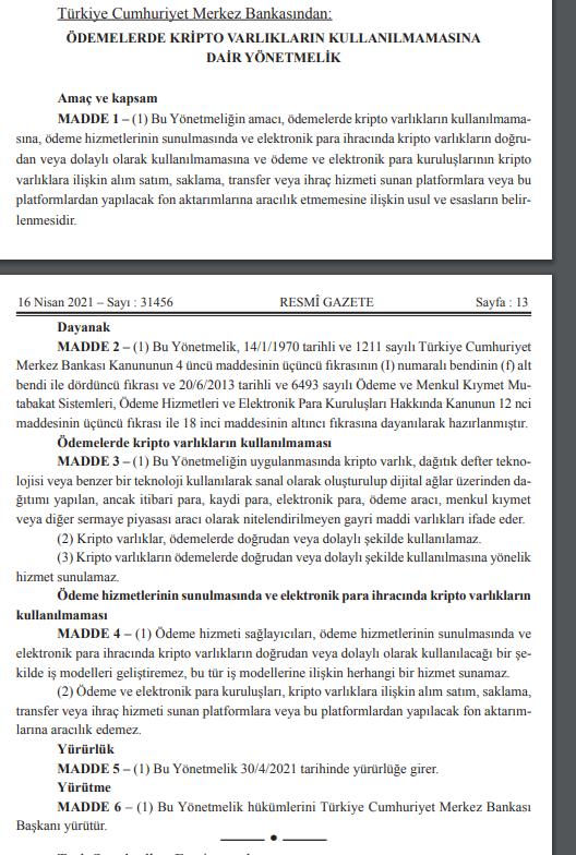 Son dakika haberi: Resmi Gazete'de yayımlandı! Kripto paralarla ilgili çok önemli yönetmelik