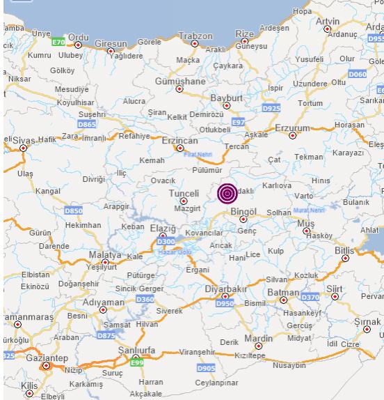Son dakika... Bingöl'de korkutan deprem! Tunceli, Erzincan, Diyarbakır, Batman, Bitlis, Elazığ, Muş'ta da hissedildi