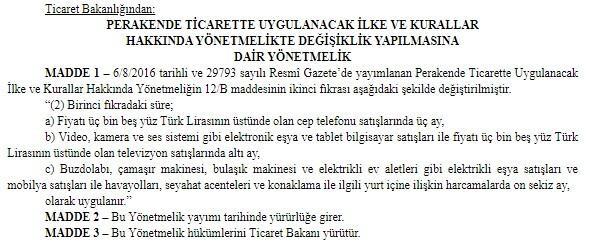 Son dakika... Resmi Gazete'de yayımlandı! Taksit süresi uzatıldı
