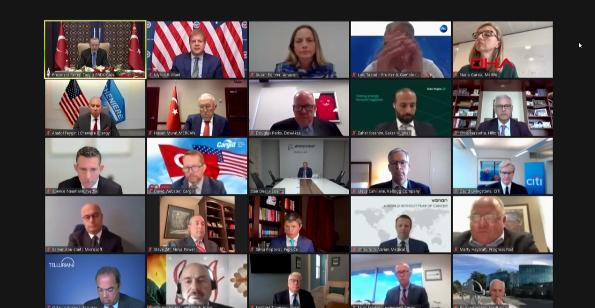 Son dakika haberi: Cumhurbaşkanı Erdoğan'dan yeni dönem vurgusu! ABD'li CEO'lara seslendi ve Biden görüşmesine atıf yaptı...